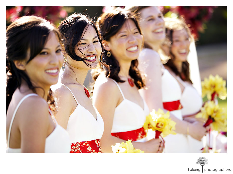 Wedding Bridesmaids in Montecito