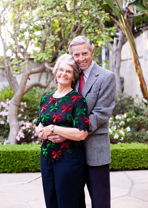 Gerry and Miriam Groff are two amazing love birds