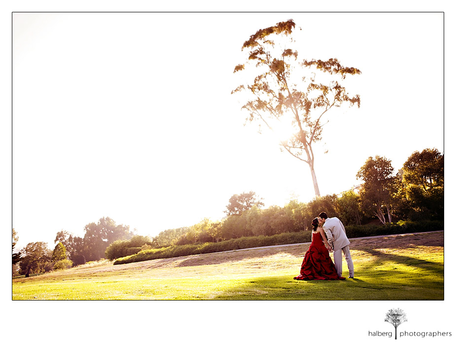 Wedding in Montecito with flare