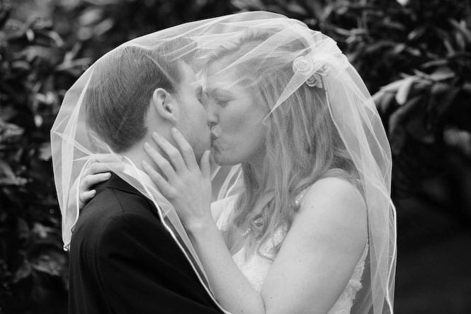 Kissing… it's the name of the game at Madrona Manor