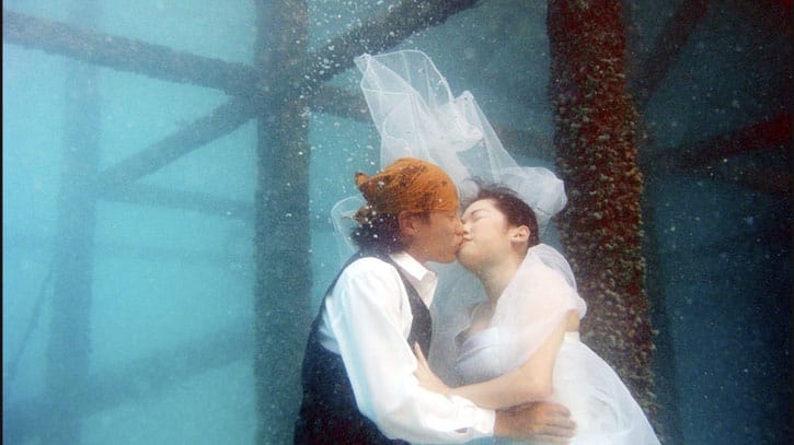 Underwater Wedding/Marriage Proposal is a thing of the tropics.