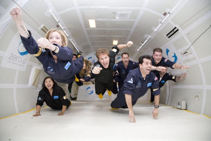 Zero G 727 Marriage Proposal Idea