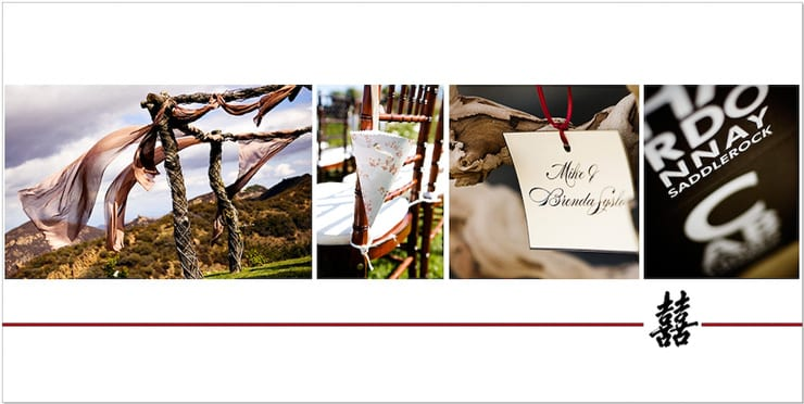 Santa Barbara Wedding Album award winner