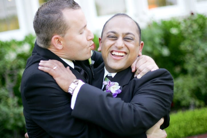 Burlingame's Kohl Mansion was the backdrop for this wedding