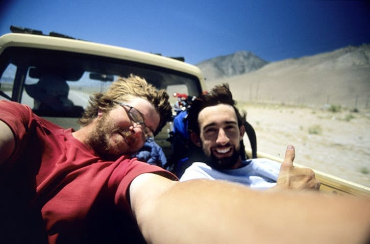 John Muir Trail hitch hiking 2004