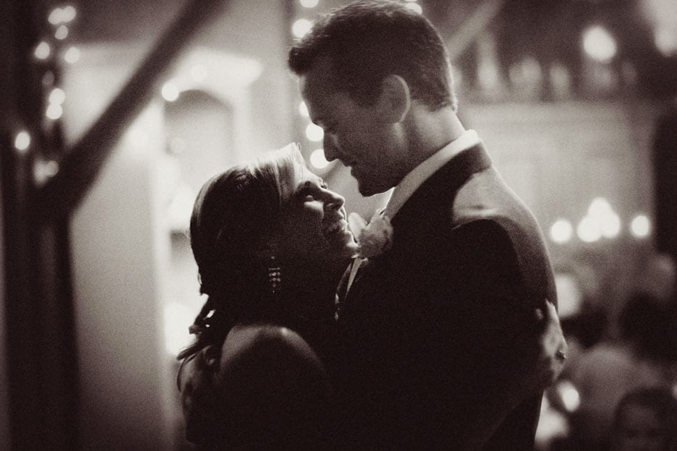 Jeremy and Amber's first dance at their Eucalyptus Lane Wedding