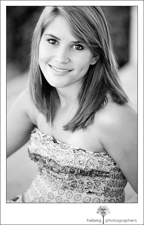 senior portrait session in santa barbara
