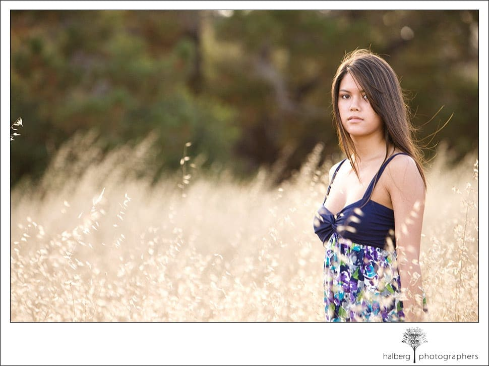 Emily's senior session in santa barbara