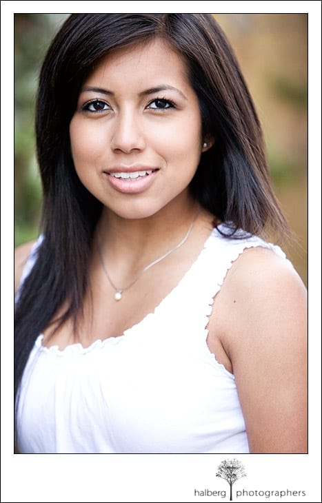 santa barbara senior portrait session with Mireya
