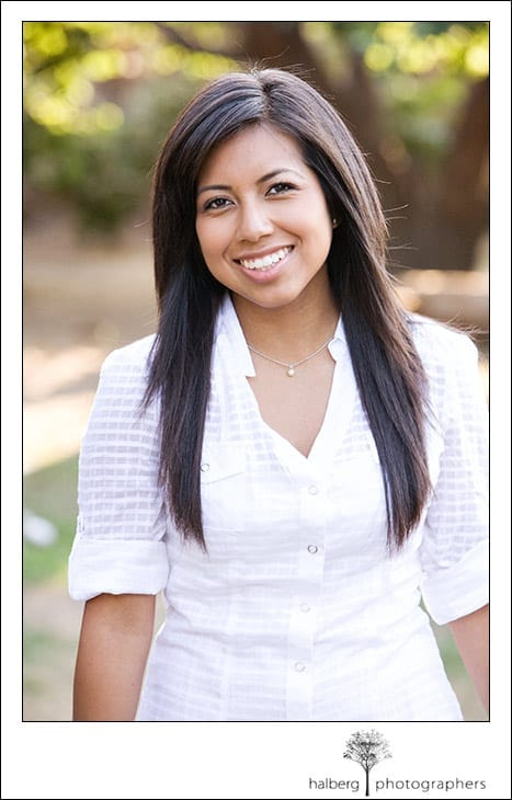 santa barbara senior portrait photography of mireya