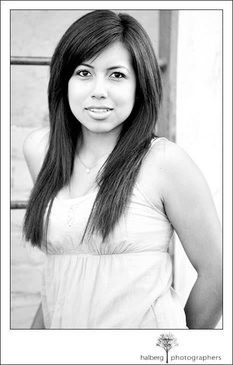 santa barbara senior portraits with mireay