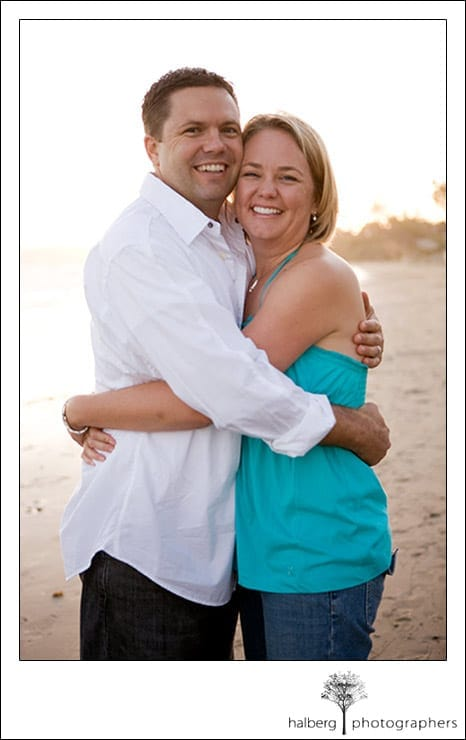 Santa Barbara portraits for the Martinich family mom and dad