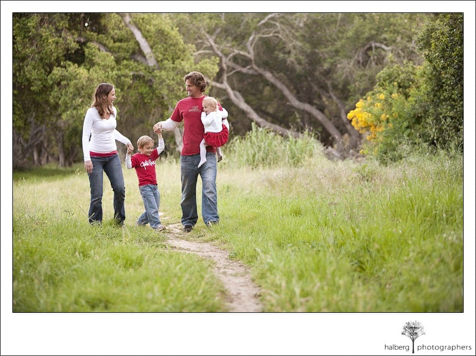 Santa Barbara portraits for the Richter Family