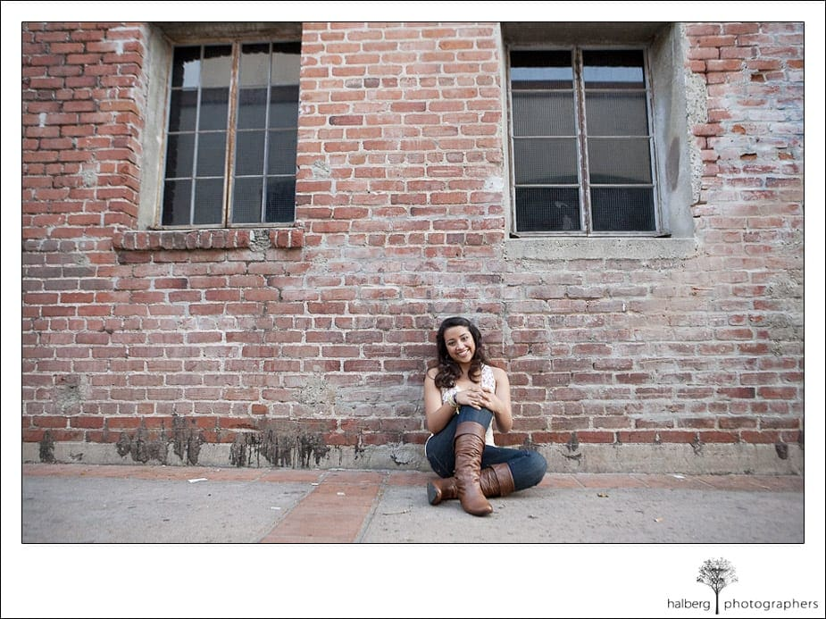 Jade's Bishop Garcia Diego High School Senior Portrait Photograph