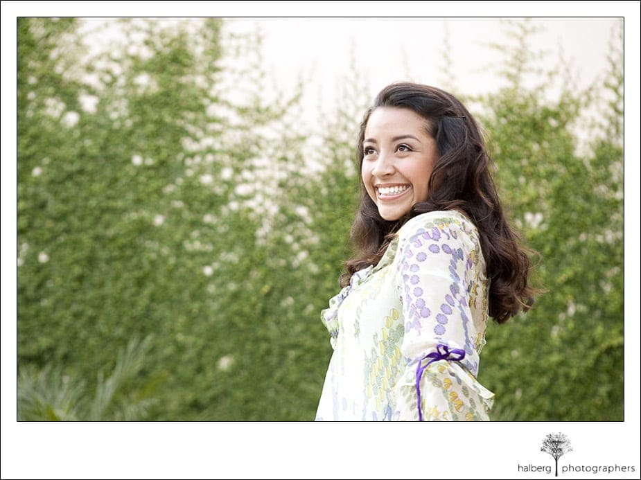 Jade's Santa Barbara Senior High School Portrait Bishop Diego High