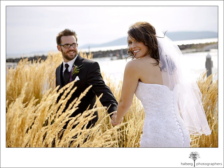 Steve and Darcy's wedding portraits at Hotel Bellwether