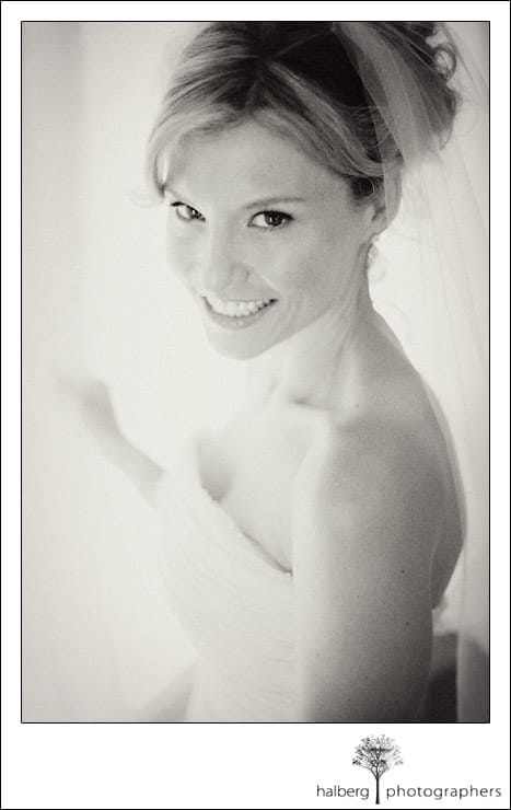 Victoria's bridal portrait at her Dos Pueblos Ranch Wedding