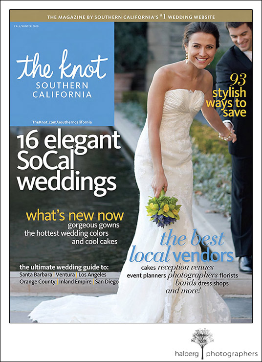Cover of the Fall/Winter The Knot Wedding Magazine