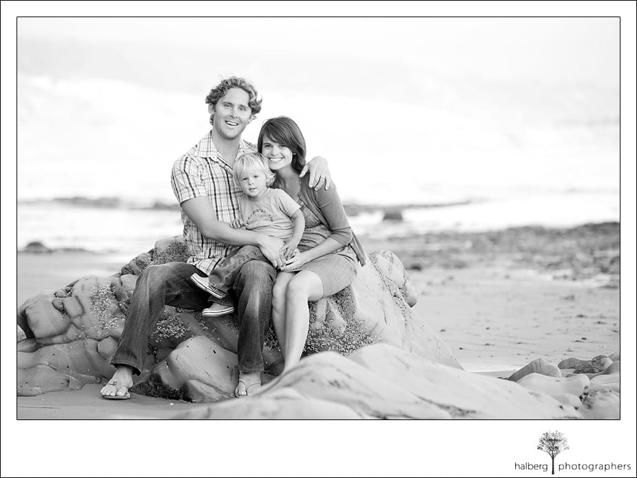 santa barbara family beach portraits