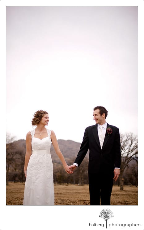 wedding couple portraits at tehachapi wedding