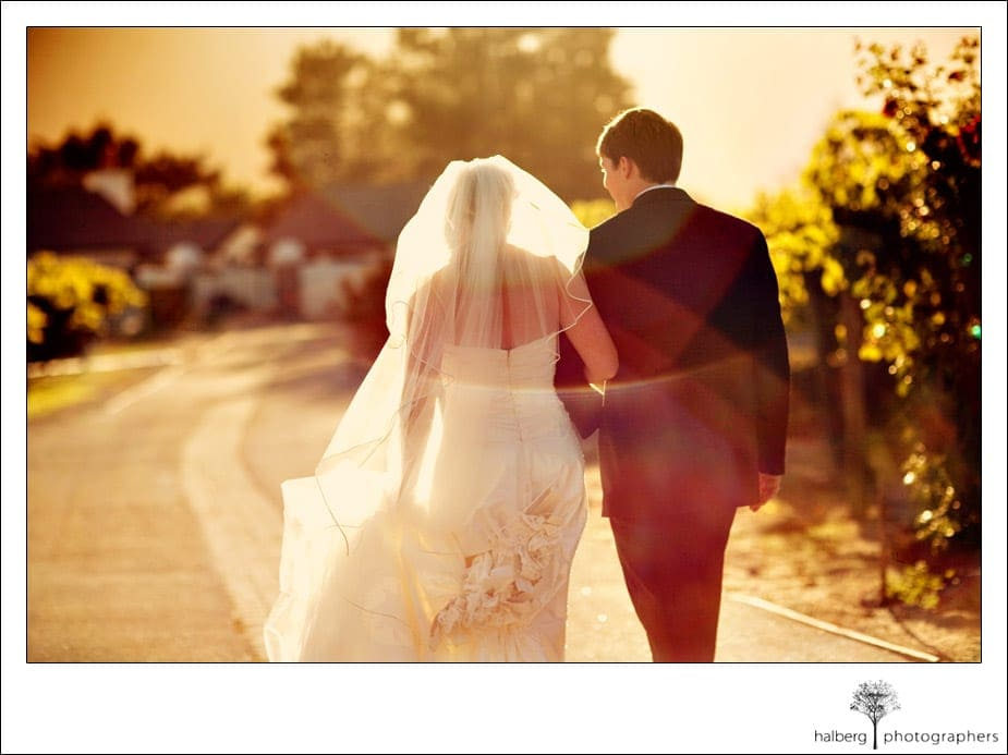 bride and groom portraits at chateau julien wine estate