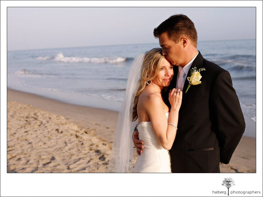 bride and groom portraits at butterfly beach