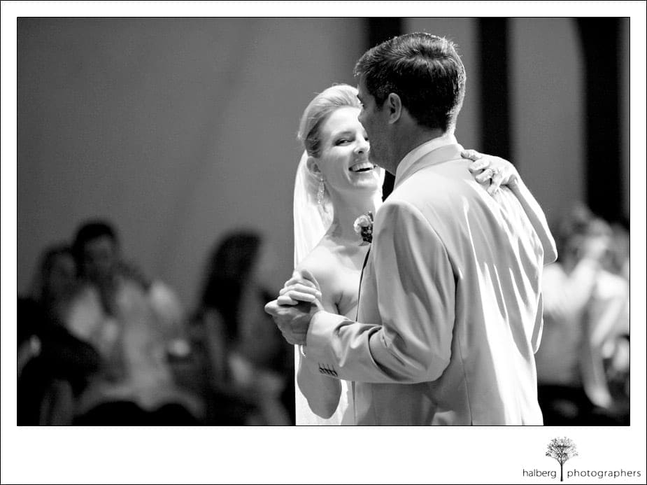 bride and groom first dance at their charles krug winery wedding