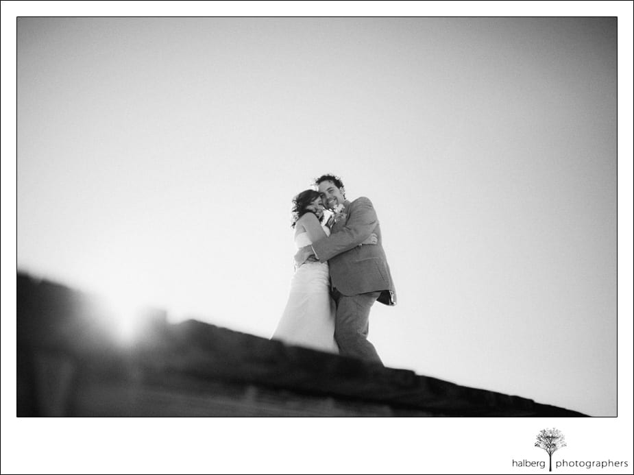 bride and groom formals at their south lake tahoe wedding
