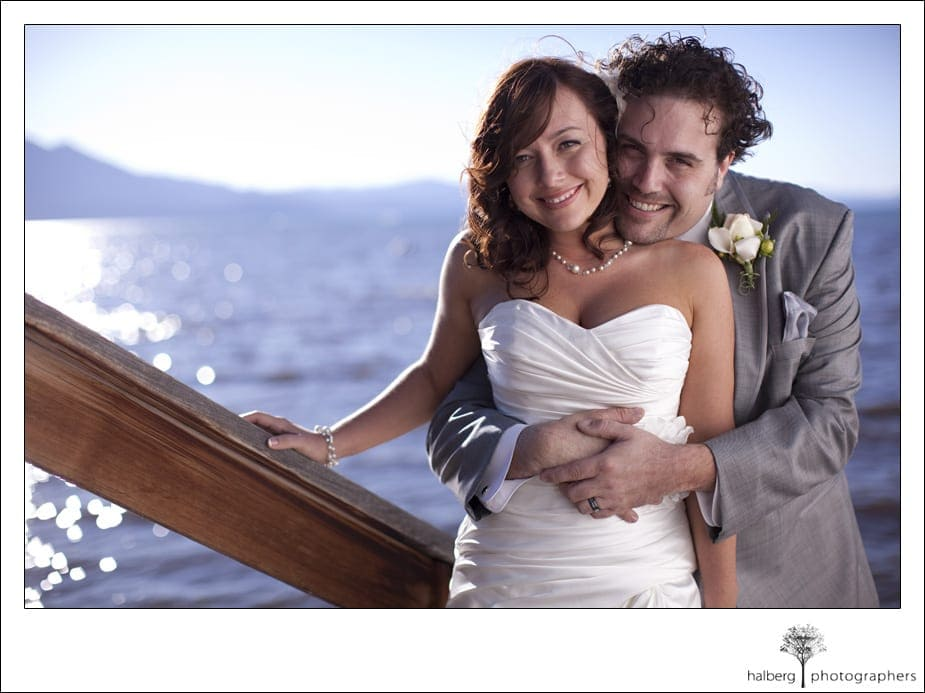 bride and groom formals on south lake tahoe