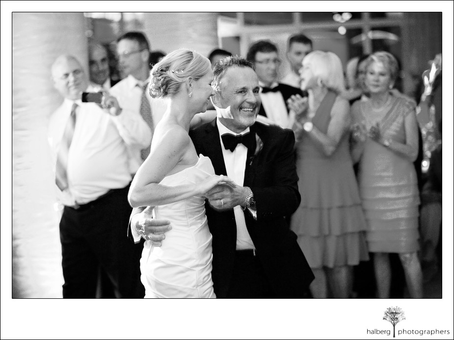 father daughter dance at coral casino club wedding