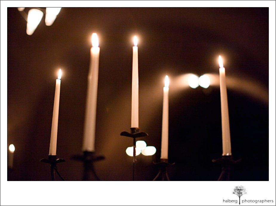 cuvaison winery wedding rehearsal candles