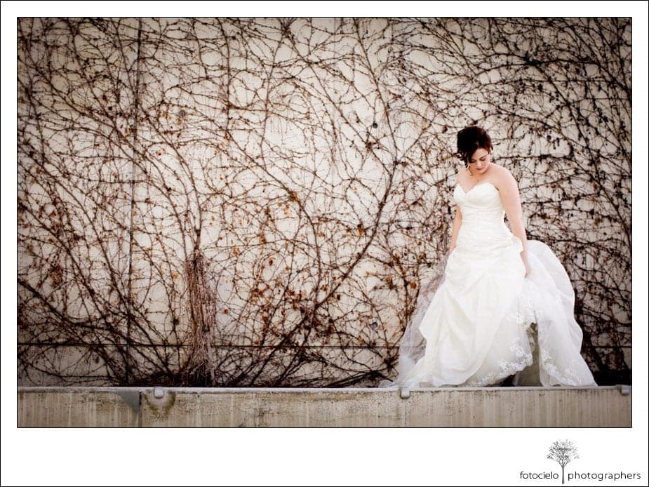 ranch golf club bridal portrait