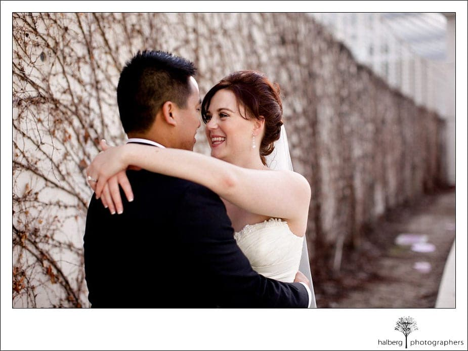 ranch golf club wedding couple portraits