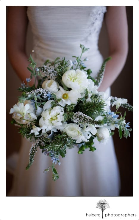 bridal bouquet for a destination wedding in florida
