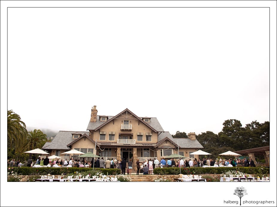 Heartstone Ranch Wedding reception overview