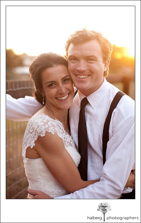 Heartstone Ranch bride and groom portrait at their wedding