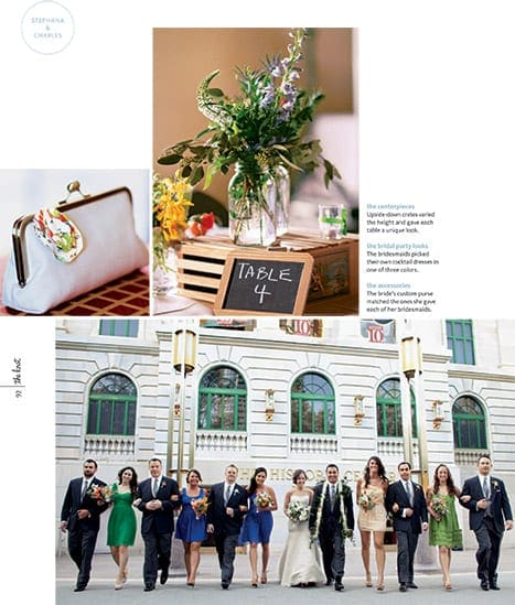 our wedding photography of stephan and charles published