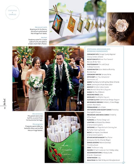 stephan and charles wedding photography published