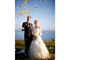 Flowers in the air at Dos Pueblos Ranch