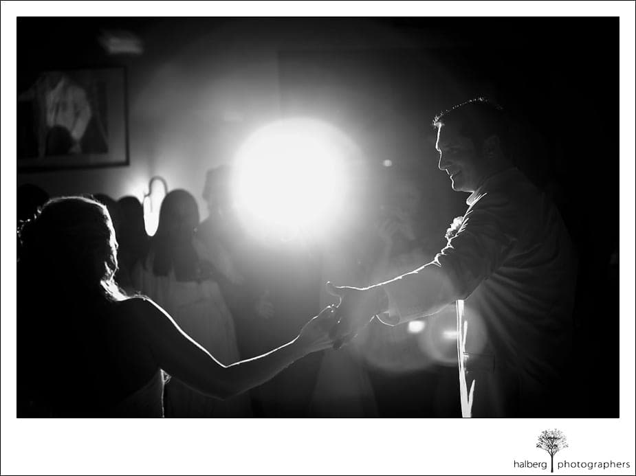 bride and groom first dance at their Nicholson Ranch Wedding