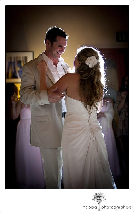 Nicholson Ranch Wedding bride and groom share their first dance
