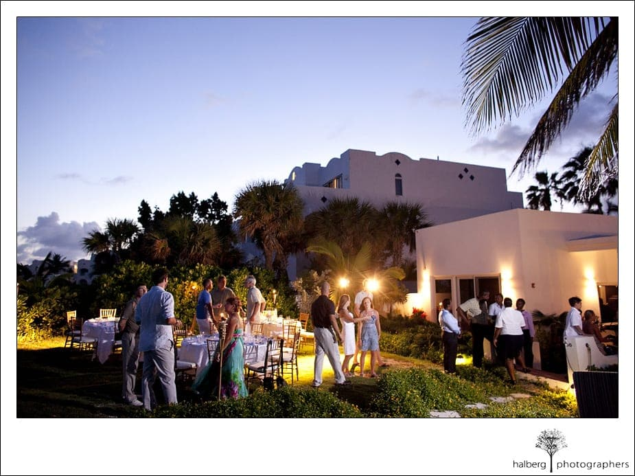 Guests mingle at CuisinArt Resort