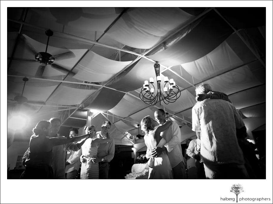 Wedding reception dancing at CuisinArt Resort