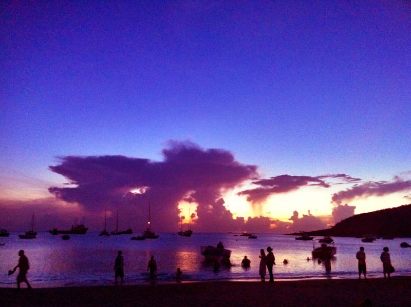 Anguilla sunset