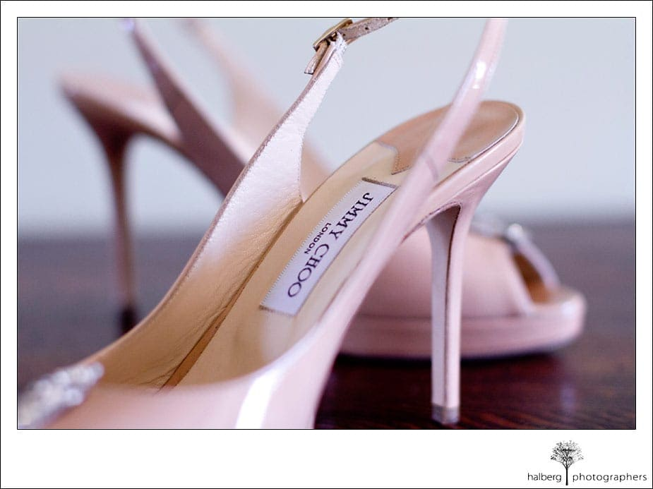 Brides wedding shoes at Garden Pavilion Wedding Sonoma