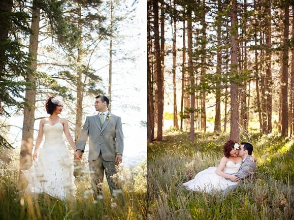 Lake Tahoe wedding portraits
