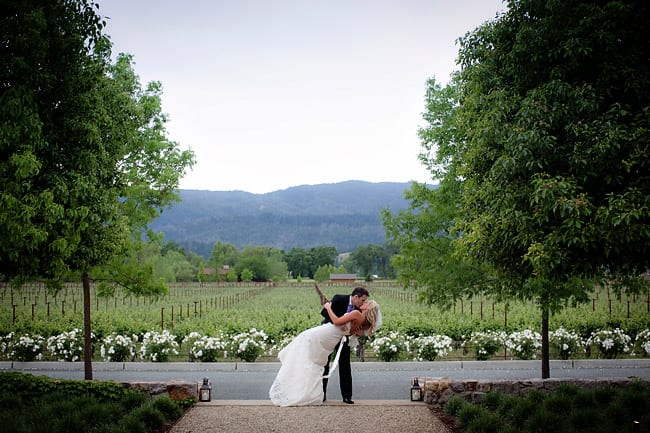 Napa wedding formal photo