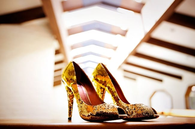 Insanely epic wedding shoes sparkle