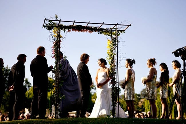Santa Ynez wedding ceremony