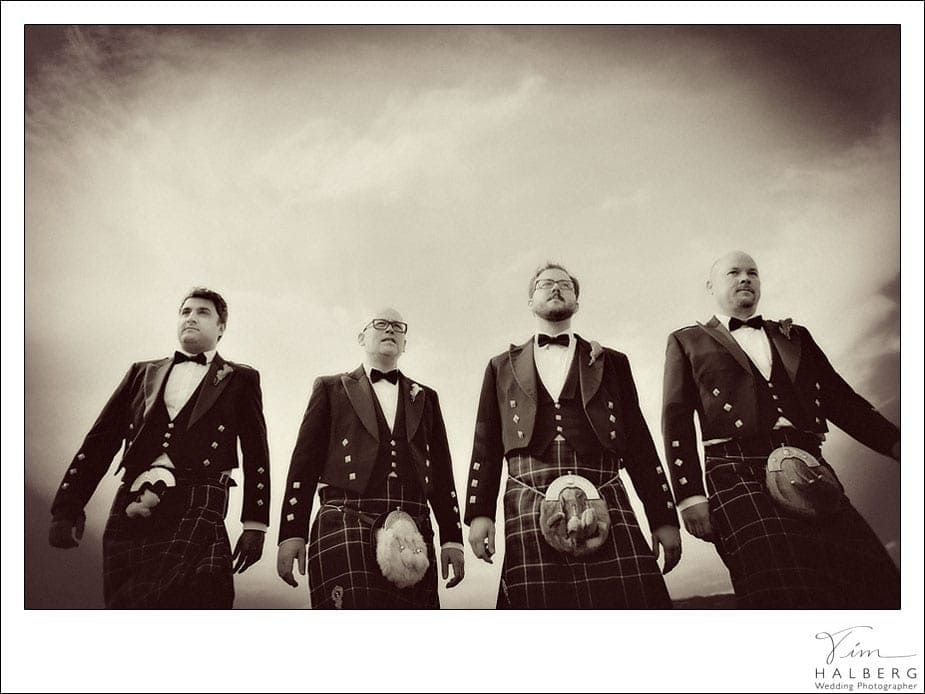 SF kilt wedding